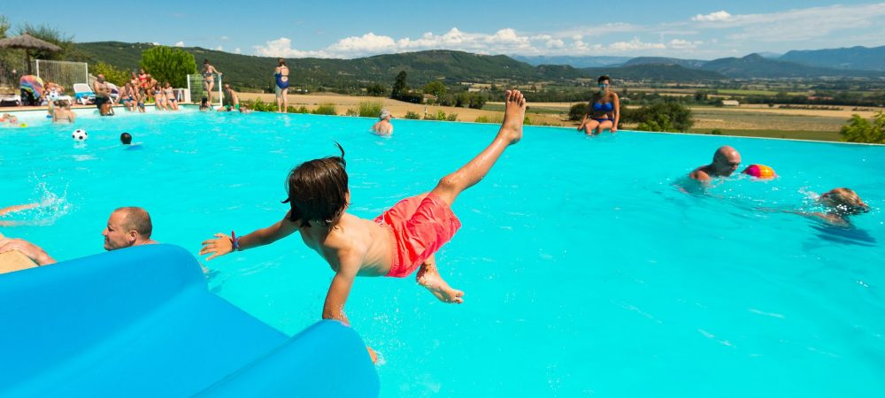 Top 3 des campings avec piscine en Rhône Alpes